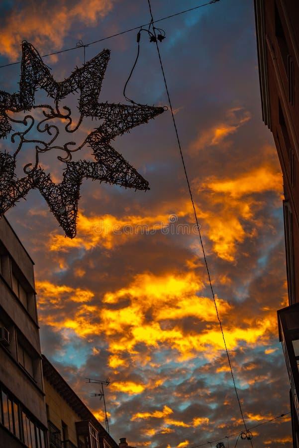 Cidade do centro do europa imagens de stock