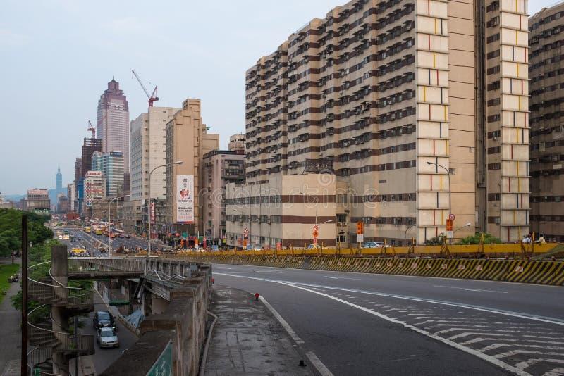 Cidade do centro, Taiwan de Taipei imagens de stock