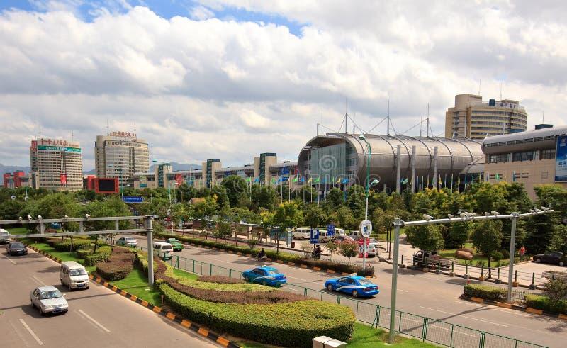 Cidade do comércio internacional de Yiwu imagens de stock
