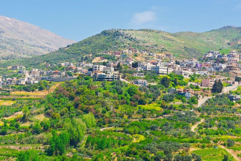 Cidade do Druze fotografia de stock