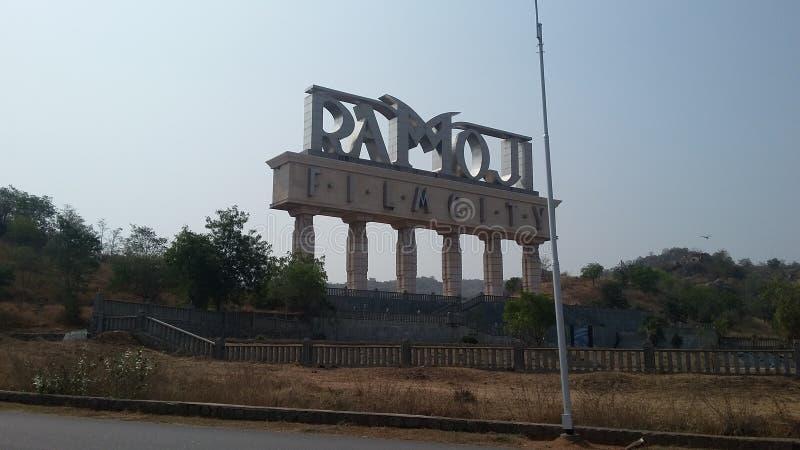 Cidade do filme de Ramoji imagens de stock