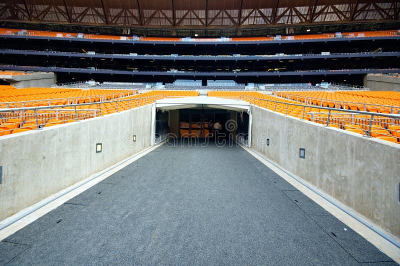 Cidade do futebol, Joanesburgo foto de stock