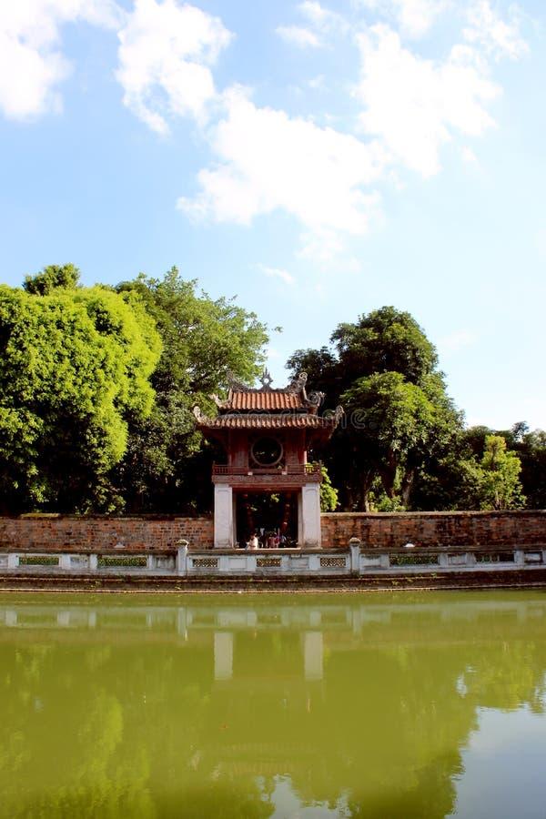 Cidade do Ha Noi fotografia de stock