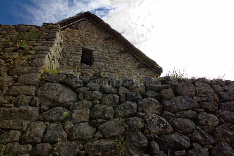 A cidade do Inca de Machu Picchu imagem de stock royalty free