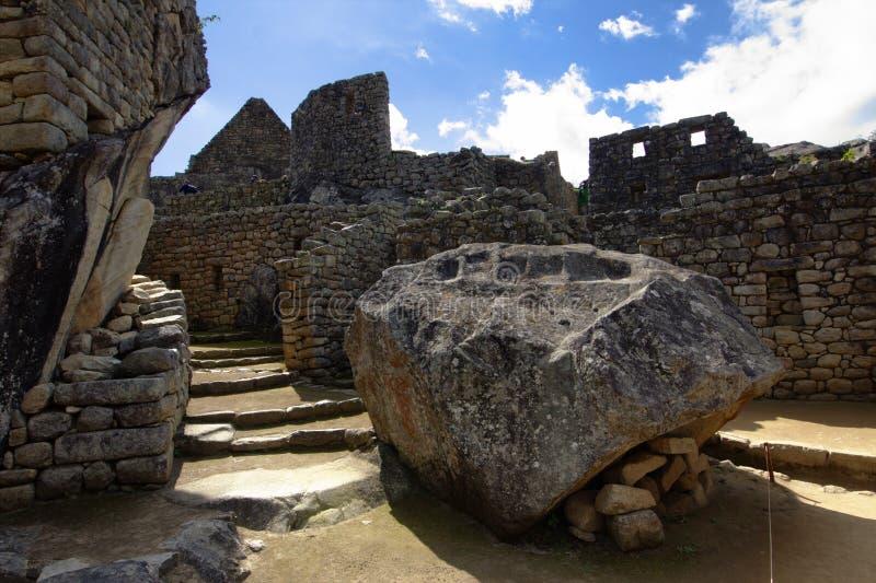 A cidade do Inca de Machu Picchu foto de stock