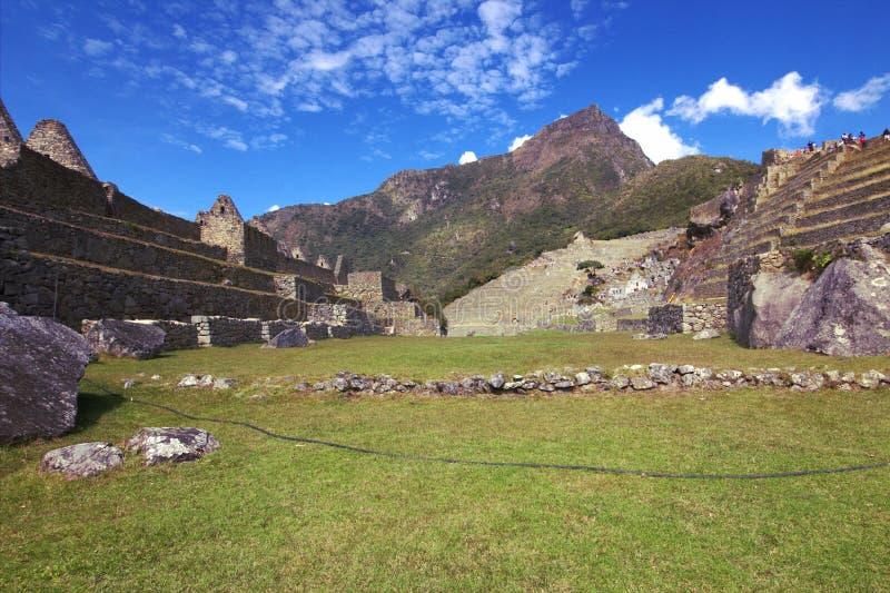A cidade do Inca de Machu Picchu imagem de stock