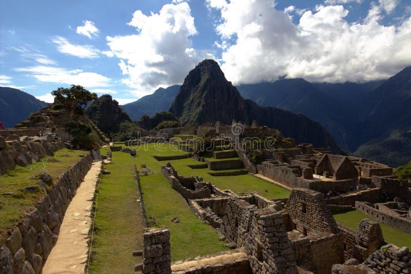 A cidade do Inca de Machu Picchu fotos de stock