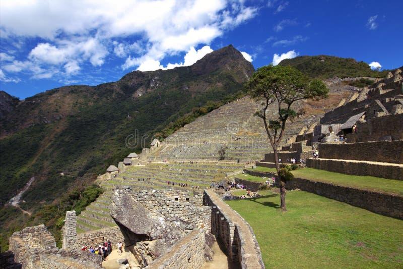 A cidade do Inca de Machu Picchu imagens de stock royalty free
