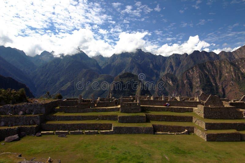 A cidade do Inca de Machu Picchu foto de stock royalty free