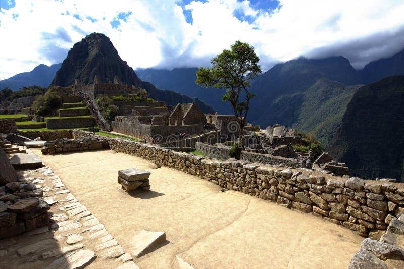 A cidade do Inca de Machu Picchu fotos de stock royalty free
