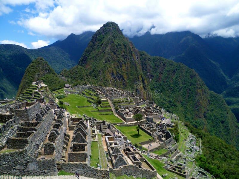 Cidade do Inca, Machu Picchu imagem de stock
