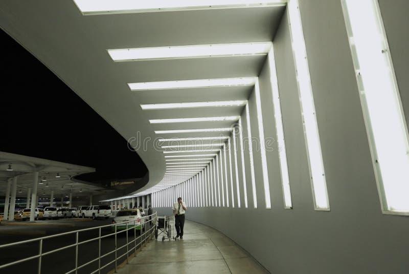 Cidade do México, México-11 de janeiro de 2019: Aeroporto Internacional de Benito Juárez fotos de stock