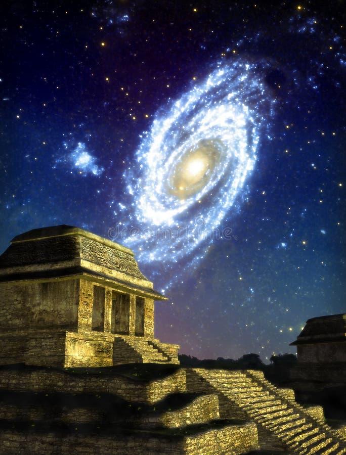 Cidade do Maya ilustração royalty free