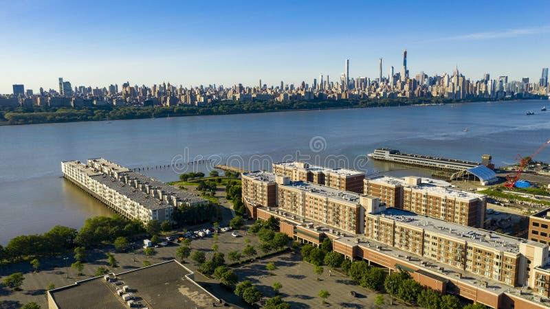 Cidade do Meio, em Manhattan, na cidade de Nova Iorque fotos de stock