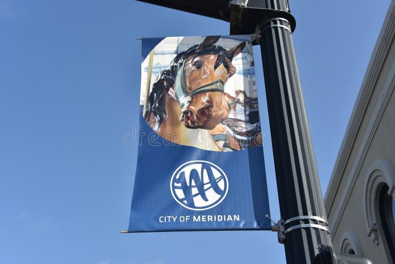 Cidade do meridiano, Mississippi foto de stock royalty free