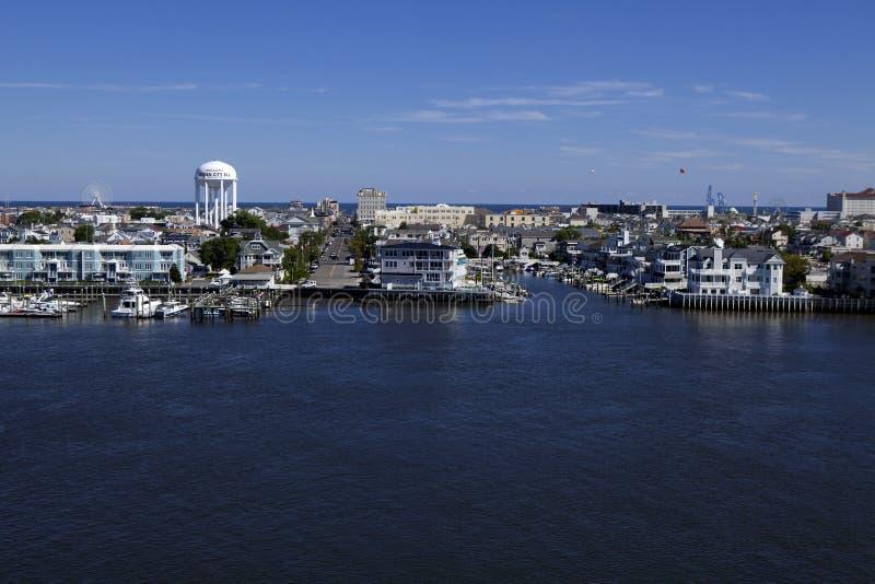 Cidade do oceano, New-jersey imagem de stock royalty free