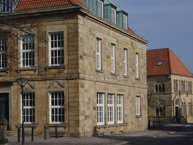 A cidade do osnabrueck em Alemanha fotografia de stock