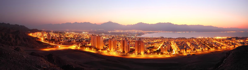 Cidade do ouro fotografia de stock royalty free