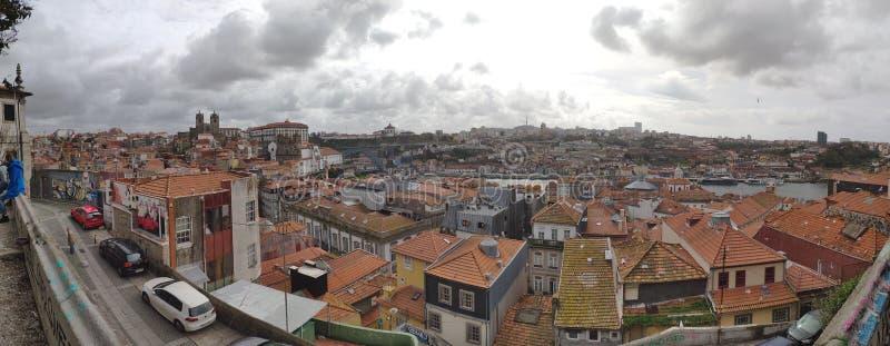 Cidade do panorama imagem de stock royalty free