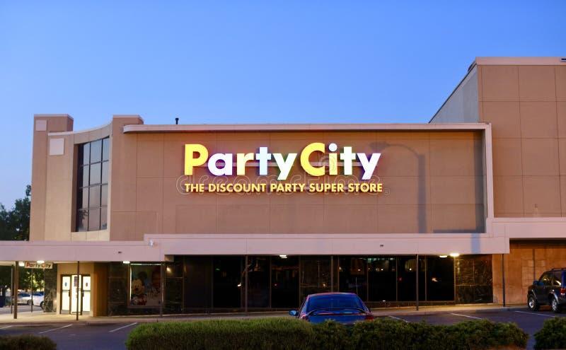 Cidade do partido imagens de stock royalty free