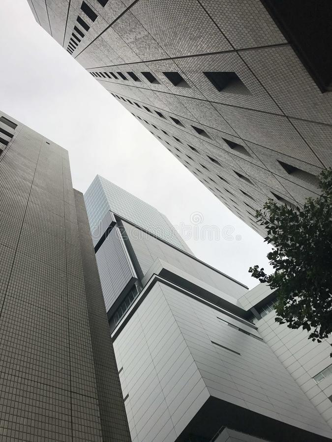 Cidade do Tóquio de Japão imagem de stock royalty free