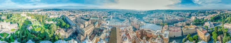 Cidade do Vaticano em Roma, Italy foto de stock royalty free