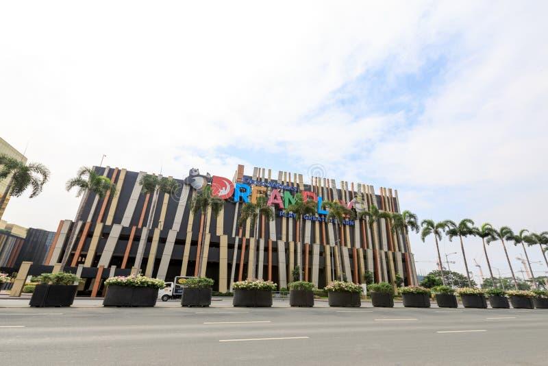 Cidade dos sonhos em Manila fotografia de stock royalty free