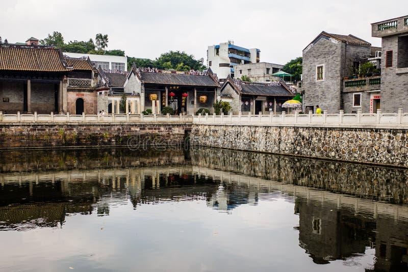 Cidade em China foto de stock