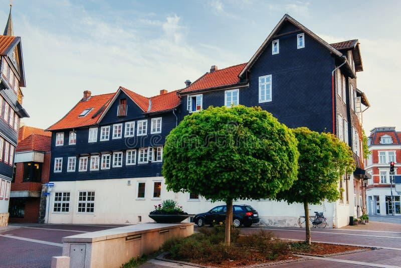 Cidade encantador no ttel de Alemanha - de Wolfenb Pouca Veneza foto de stock