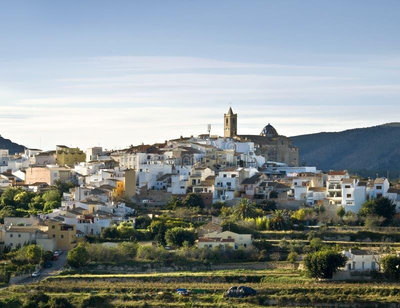 Cidade espanhola imagens de stock royalty free
