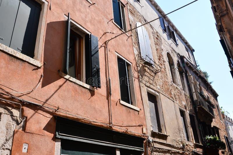 Cidade famosa do italiano de Veneza imagens de stock royalty free