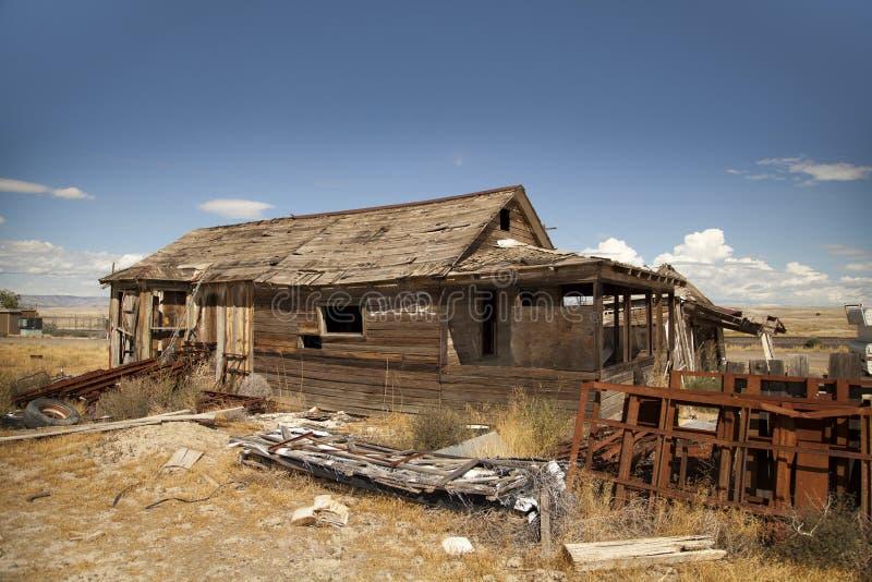 Cidade fantasma de Cisco fotografia de stock
