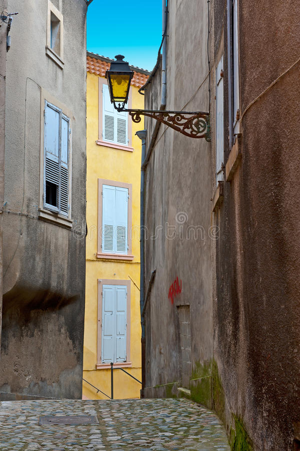Cidade francesa imagens de stock
