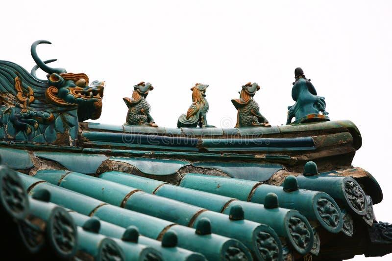 Cidade God& x27; templo de s, Zhengzhou imagem de stock