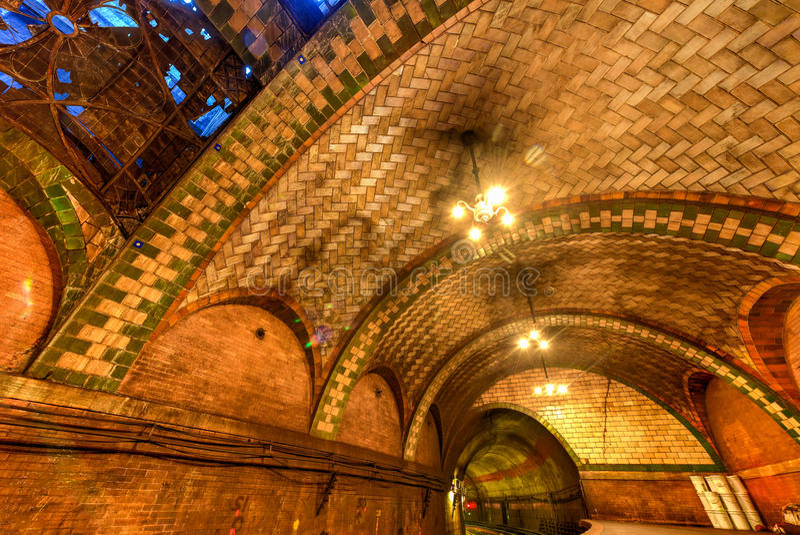 Cidade Hall Station - New York City fotos de stock