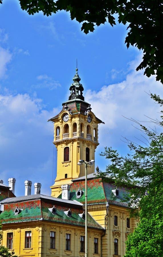 Cidade Hall Szeged imagens de stock