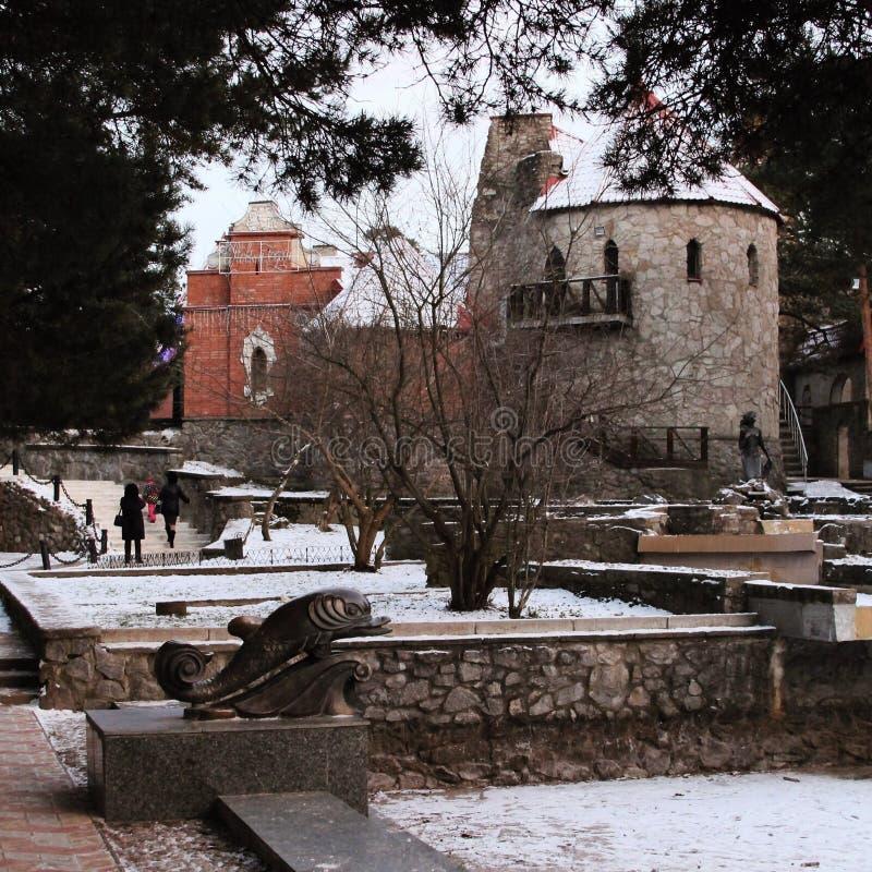 Cidade histórica foto de stock royalty free