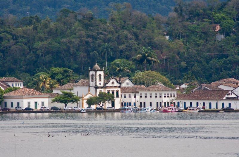 Cidade histórica de Paraty fotos de stock