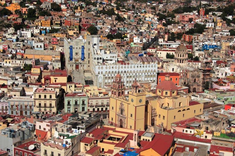 Cidade histórica do UNESCO de Guanajuato, Guanajuato, México foto de stock royalty free