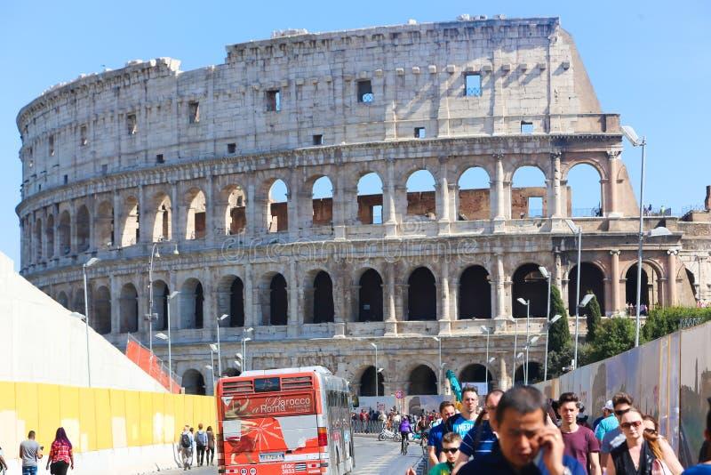 Cidade histórica Roma - Itália fotografia de stock
