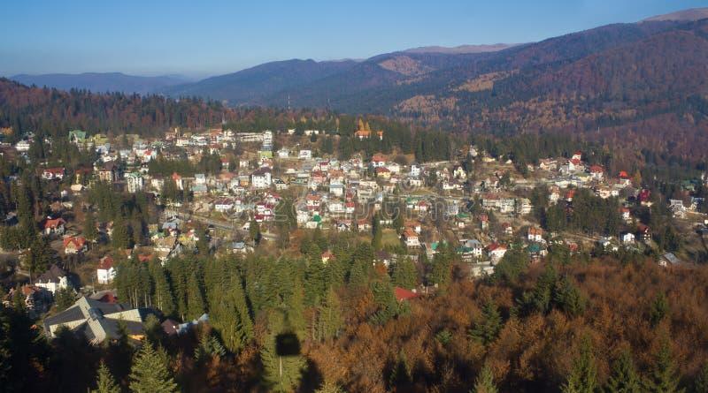 Cidade II da montanha imagens de stock