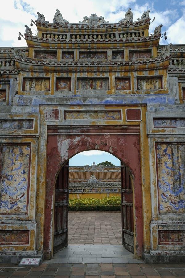 Cidade Imperial em Hue, Vietname fotografia de stock royalty free