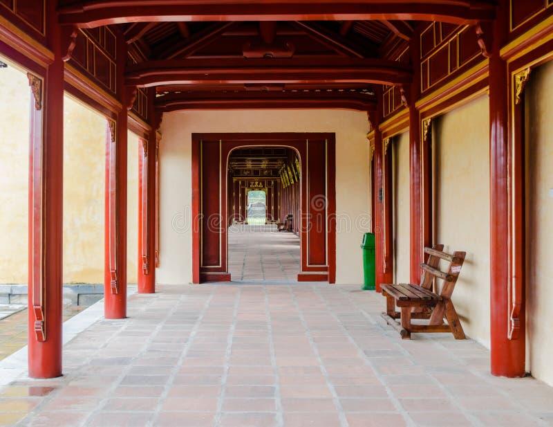 A cidade imperial, estabelecida como a capital de Vietname unificado foto de stock royalty free