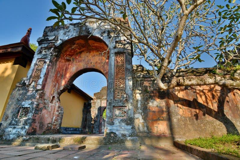 Cidade imperial Hué vietnam foto de stock royalty free