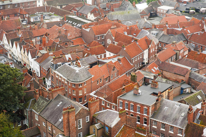 Cidade inglesa fotografia de stock