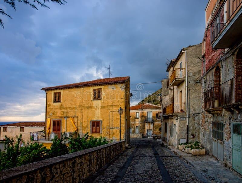 Cidade italiana antiga fotografia de stock royalty free