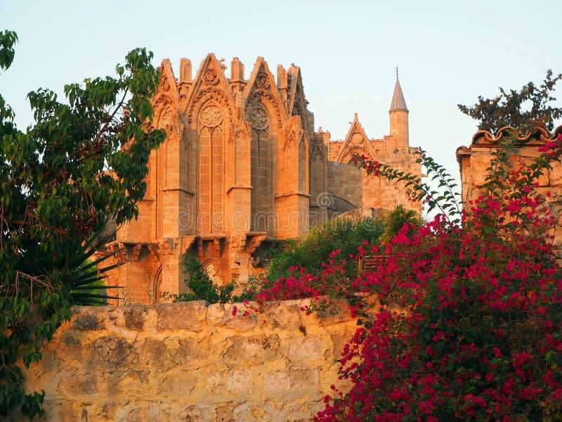 A cidade a mais velha de Famagusta-the em Chipre, fundado no século III BC fotos de stock royalty free