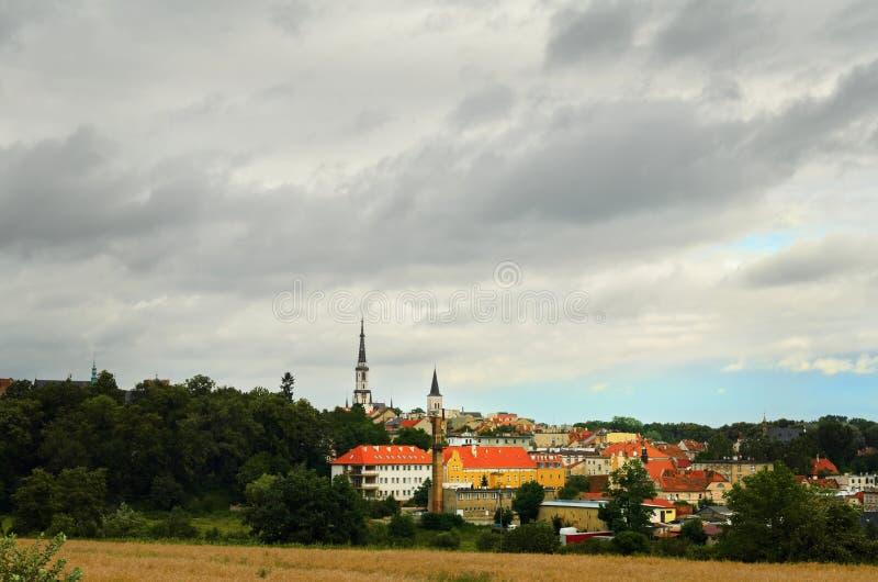 Cidade pequena foto de stock royalty free
