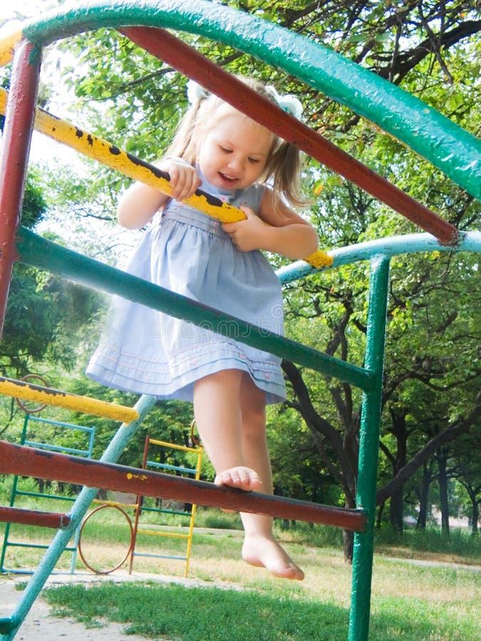 A cidade pequena das crianças fotografia de stock royalty free