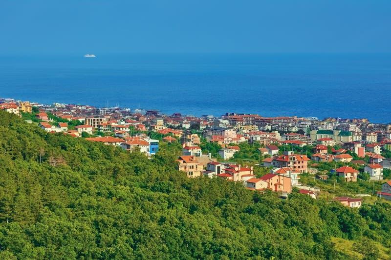 Cidade pequena em Bulgária fotos de stock royalty free